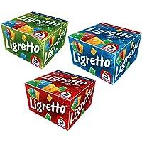 Schmidt Ligretto Card Game Super Pack - Red Green Blue