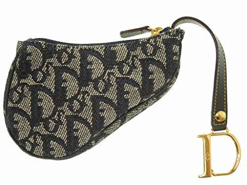 (クリスチャンディオール) Christian Dior トロッター バッグチャーム コインケース キャンバス レディース 0035 中古