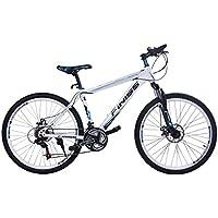 SHINEWOOD(シャインウッド) 自転車 26インチ マウンテンバイク MTB フロントサスペンション シマノ21段変速 前後機械式ディスクブレーキ