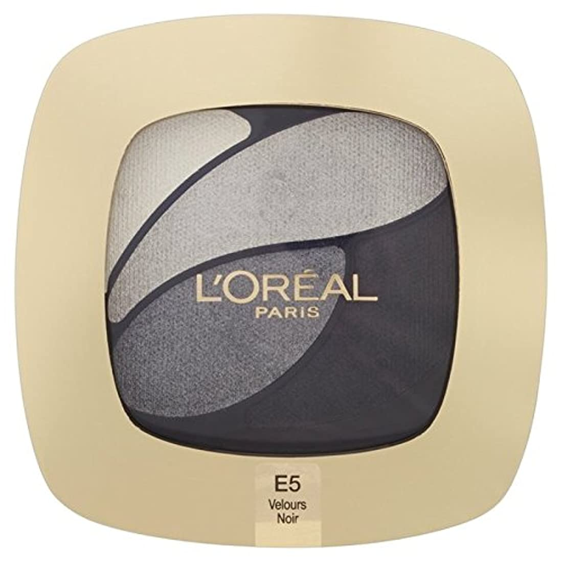 ポップケイ素超えるL'Oreal Paris Color Riche Quad, E5 Incredible Grey 30g - ロレアルパリのカラーリッシュクワッド、5信じられないほどの灰色の30グラム [並行輸入品]