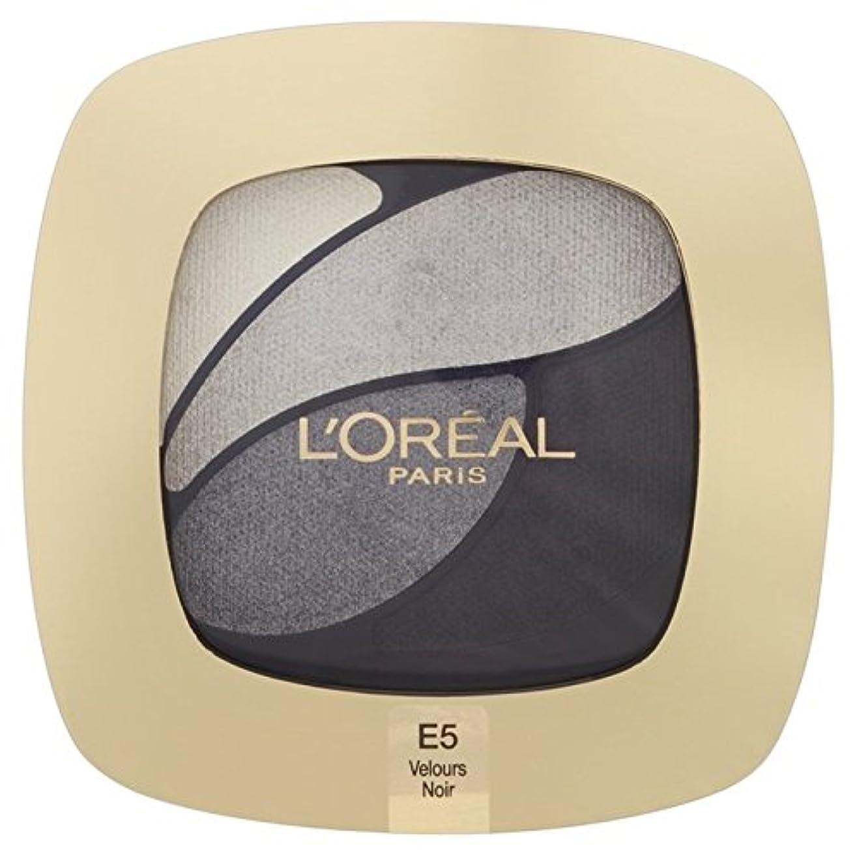カートンアルファベット気をつけてL'Oreal Paris Color Riche Quad, E5 Incredible Grey 30g - ロレアルパリのカラーリッシュクワッド、5信じられないほどの灰色の30グラム [並行輸入品]