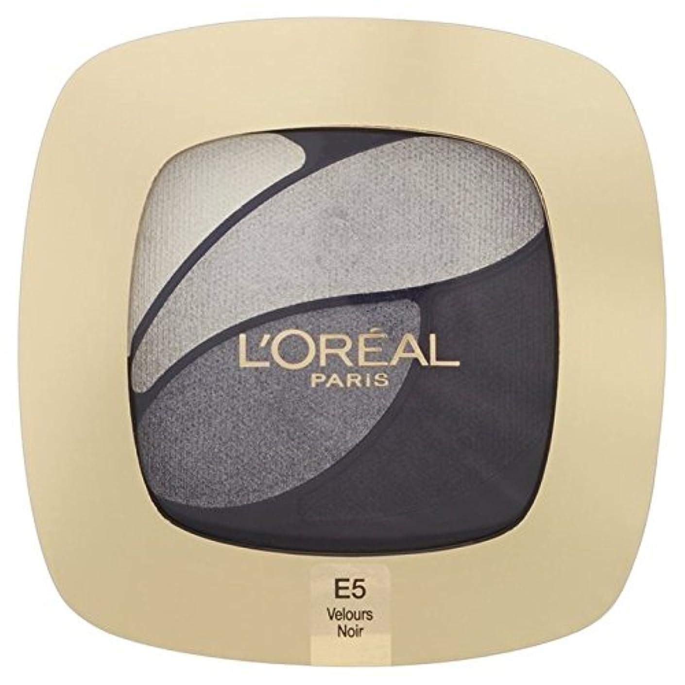 から聞く経由で後世L'Oreal Paris Color Riche Quad, E5 Incredible Grey 30g - ロレアルパリのカラーリッシュクワッド、5信じられないほどの灰色の30グラム [並行輸入品]