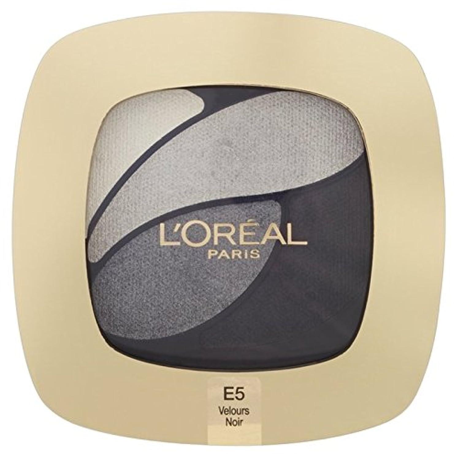 聴覚サラミ殺すL'Oreal Paris Color Riche Quad, E5 Incredible Grey 30g - ロレアルパリのカラーリッシュクワッド、5信じられないほどの灰色の30グラム [並行輸入品]