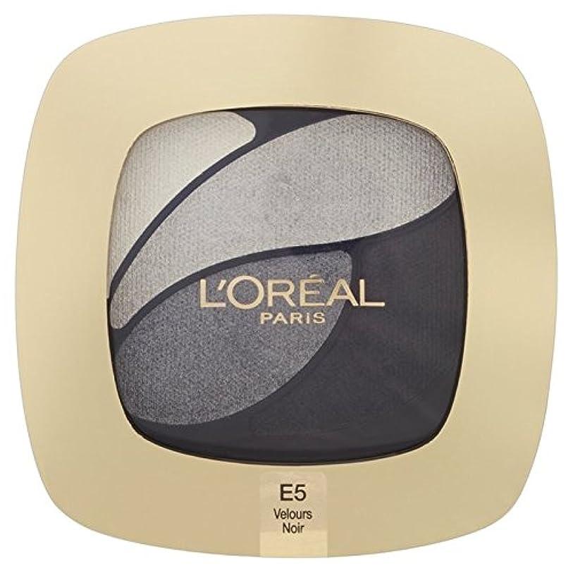 プレーヤー健全落ち込んでいるL'Oreal Paris Color Riche Quad, E5 Incredible Grey 30g - ロレアルパリのカラーリッシュクワッド、5信じられないほどの灰色の30グラム [並行輸入品]