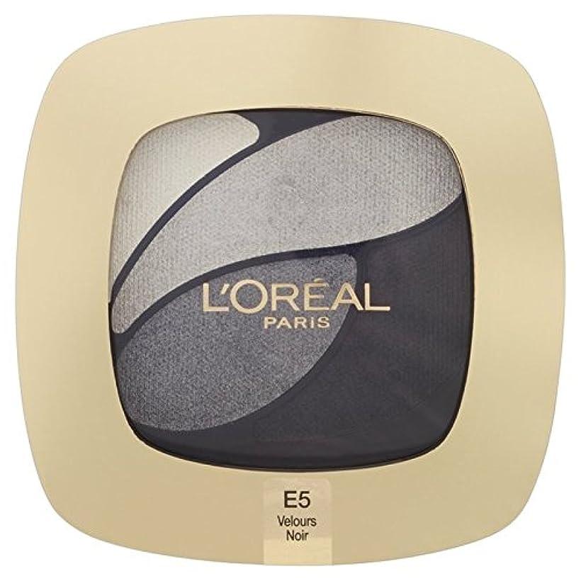 傷つける杖写真を撮るL'Oreal Paris Color Riche Quad, E5 Incredible Grey 30g - ロレアルパリのカラーリッシュクワッド、5信じられないほどの灰色の30グラム [並行輸入品]
