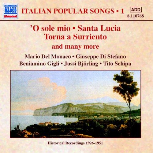 イタリアの歌謡集 1(1930-1950)
