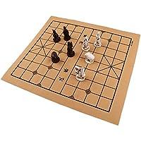 Baoblaze ヴィンテージ 中国 チェス 折りたたみ チェス盤 セット