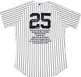 MLBニューヨークヤンキースMark Teixeira署名ヤンキースAuthenticホームピンストライプジャージー