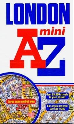 A-Z London Mini Spiral (Street Maps & Atlases)