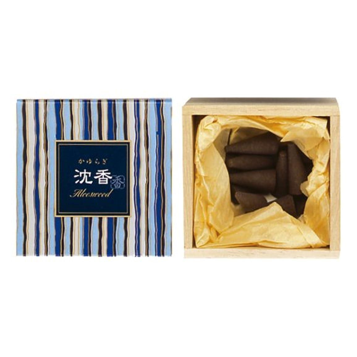 ペンス傾向があります日記日本香堂 かゆらぎ沈香コーン 12入38411