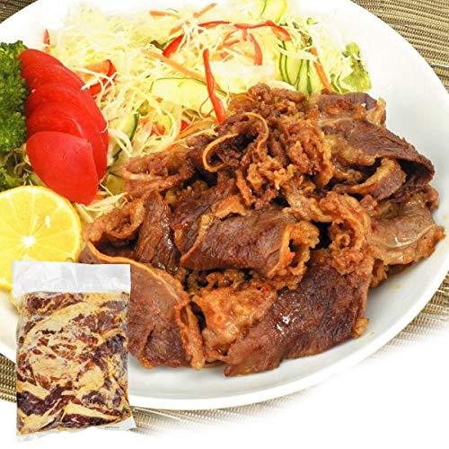 国華園 味付 牛バラ焼肉 2kg (1袋1kg入り)牛肉 冷凍便