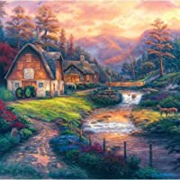Jigsaw Puzzle Square 1000 Pieces 25X25-Farm Country-The Appalachian Trail [並行輸入品]