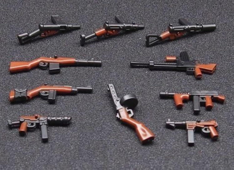 化粧箱入り 高クオリティー武器セット+ドイツ軍武器専用箱