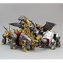 Toyworld Metallic Dino Combiners set of 5 TW-DM (2018 Zeta Dinokong EX-04) 5体セット [並行輸入品]