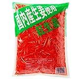 国産生姜使用 紅しょうが千切り 1Kg【合成着色料・保存料 不使用】