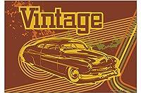 冷蔵庫用マグネット Fridge Magnet Nostalgic Car Retro Vintage Vintage