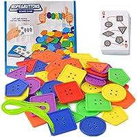 KESOTO 子供のおもちゃ 知育玩具 レーシングゲーム ビルディングブロック 幾何学的 早期教育