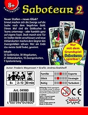 Saboteur 2 Expansion Card Game