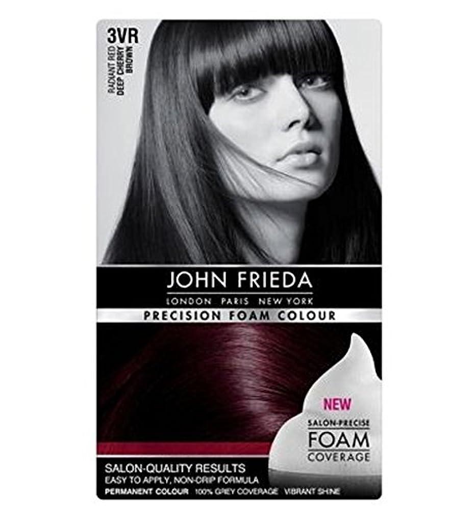 学校独占コストジョン?フリーダ精密泡カラー3Vr深いチェリーブラウン (John Frieda) (x2) - John Frieda Precision Foam Colour 3VR Deep Cherry Brown (Pack...