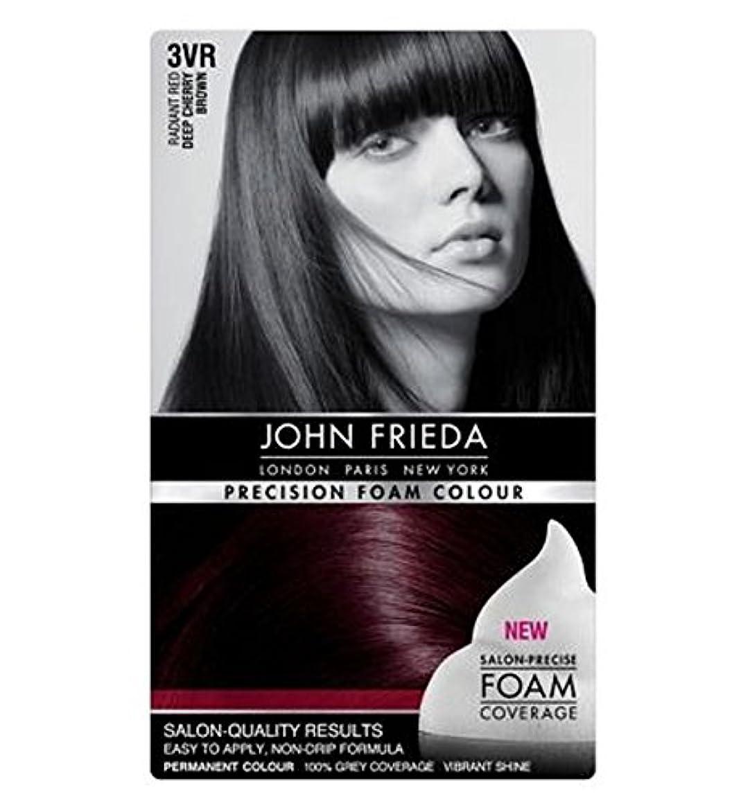 ファシズム共和党プロジェクタージョン?フリーダ精密泡カラー3Vr深いチェリーブラウン (John Frieda) (x2) - John Frieda Precision Foam Colour 3VR Deep Cherry Brown (Pack...