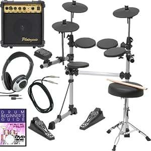 電子ドラム MEDELI DD-402KII DIY KIT【DVD・アンプ・ケーブル・イス・ヘッドフォン付きセット♪】(9757406802)