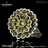 ダークソウル × TORCH TORCH/リングコレクション: 緑花の指輪 13号