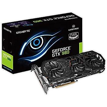 GIGABYTE ビデオカード Geforce GTX980搭載 オーバークロックモデル GV-N980WF3OC-4GD