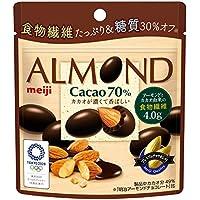 明治 アーモンドチョコレートカカオ70% パウチ 34g×10袋
