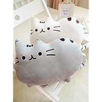 LIWEIKE® フワフワ 柔らか かわいい ネコ クッション 抱き枕 オフィス用にも (2個セット)
