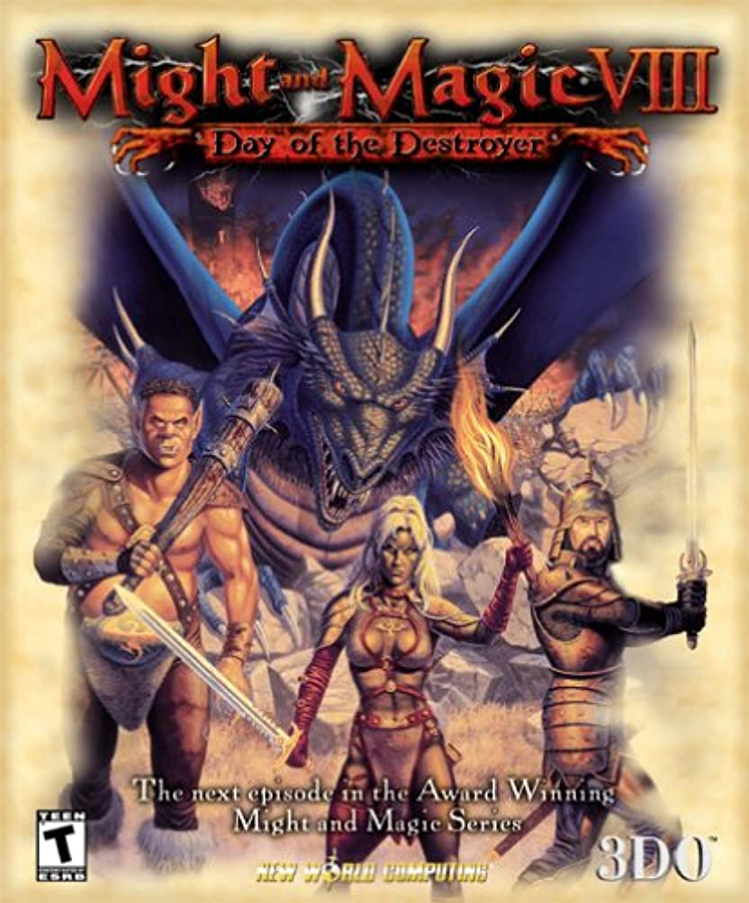 割れ目机ビジターMight and Magic 8: Day of the Destroyer (輸入版)
