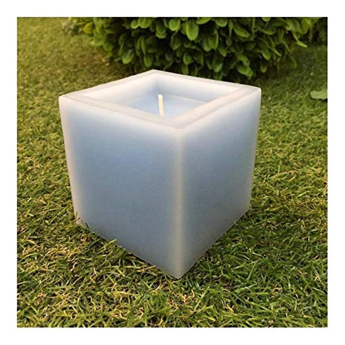 空白魅了する細部ACAO 四角い凹型装飾キャンドルアレンジ用品