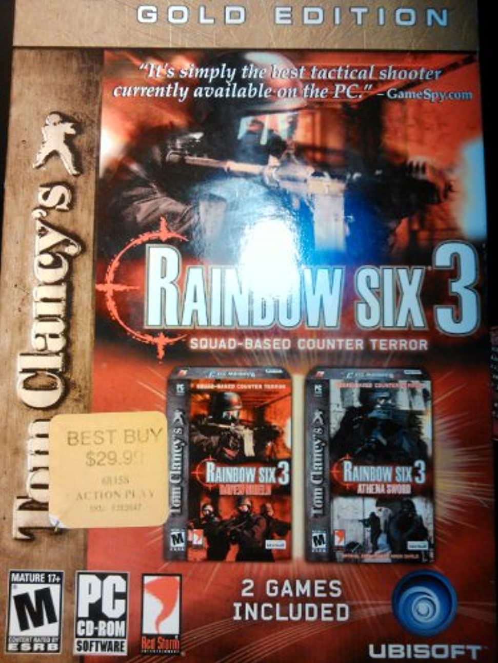 遺伝的ヒット労苦Tom Clancy's Rainbow Six 3, Gold Edition: Raven Shield / Athena Sword (輸入版)