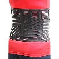 Bussola 腰痛ベルト 腰サポーター コルセット 幅広タイプで固定力抜群 メッシュ素材 男女兼用
