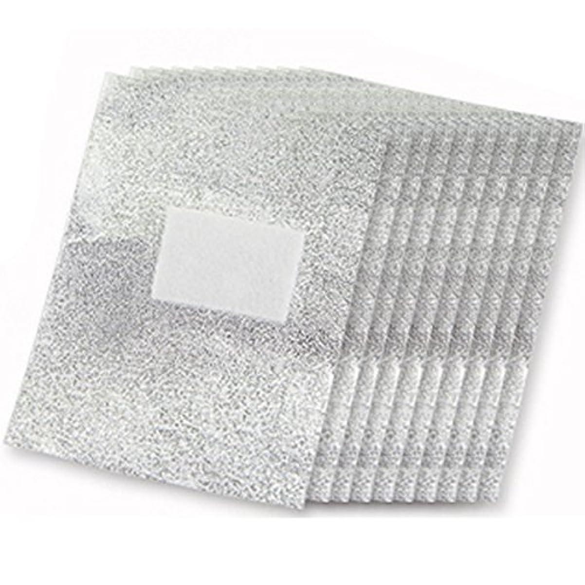 基礎天気貼り直すSODIAL 100xアルミフォイルネイルアート 浸すアクリルゲルポリッシュネイルリムーバー