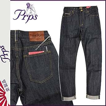 (ピーアールピーエス) PRPS デニム ジーンズ メンズ ジーパン テーパード インディゴ FURY RAW 30 (並行輸入品)