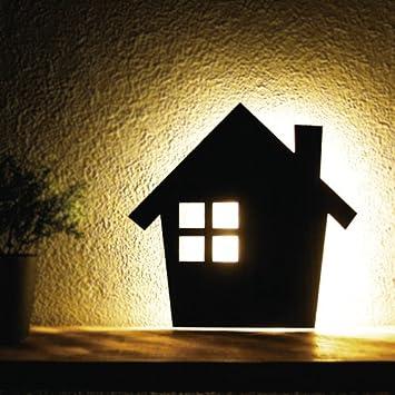 Amazon led led woody wall light house tl mozeypictures Images