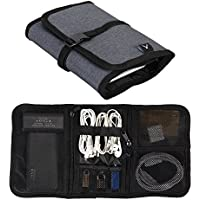 Hynes Eagle Travel Bag for Women Men Electronics Accessories Travel Organizer Cables Charger Case