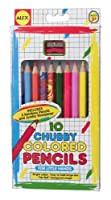 ALEX Toys Artist Studio 10 Chubby Colored Pencils [Floral] [並行輸入品]