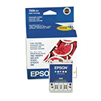 Epson t008201Intellidgeインク、220page-yield、5/ Pack, Assorted