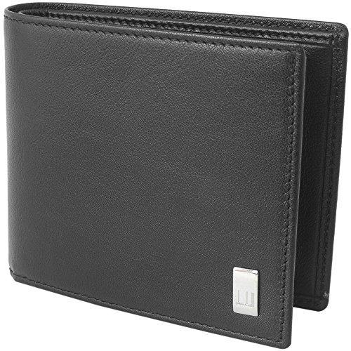(ダンヒル)DUNHILL ダンヒル 財布 二つ折り財布 折りたたみ財布 小銭入れあり QD3070A SIDECAR サイドカー レザー BLACK ブラック 黒 [並行輸入品]