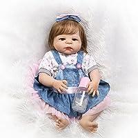 SanyDoll Rebornベビー人形ソフトSilicone 22インチ55 cm磁気Lovely Lifelike Cute Lovely Baby b0763l8bn7