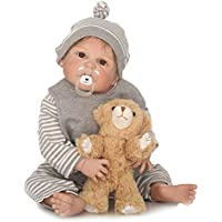 SanyDoll Rebornベビー人形ソフトSilicone 22インチ55 cm磁気Lovely Lifelike Cute Lovely Baby b0763kpp3 C