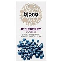有機ブルーベリークッキー175グラムBiona (x 2) - Biona Organic Blueberry Cookies 175g (Pack of 2) [並行輸入品]