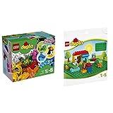 レゴ(LEGO) デュプロ デュプロ(R)のいろいろアイデアボックス 10865 & デュプロ 基礎板(緑) 2304