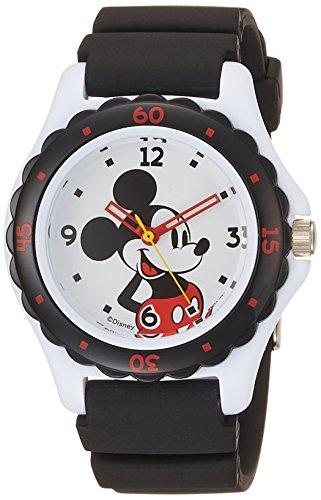 [シチズン キューアンドキュー]CITIZEN Q&Q 腕時計 ディズニー コレクション ミッキーマウス 10気圧防水 ウレタンベルト ブラック HW02-001 レディース
