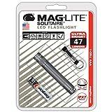 MAG-LITE(マグライト) 懐中電灯 ソリテール LED(単四1本) SJ3A096 グレー