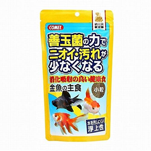 (まとめ買い)イトスイ コメット 金魚の餌 金魚の主食 納豆菌 小粒 200g 【×6】