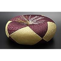 京仏壇はやし 仏具 丸布団 弥生 6号 ( 約18cm ) ◆直径 約18cm × 高さ 約6cm ※おりん、木魚、木柾用のおふとんです。