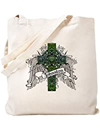 CafePress – ジョンストンタータンクロス – ナチュラルキャンバストートバッグ、布ショッピングバッグ S ベージュ 0679008963DECC2