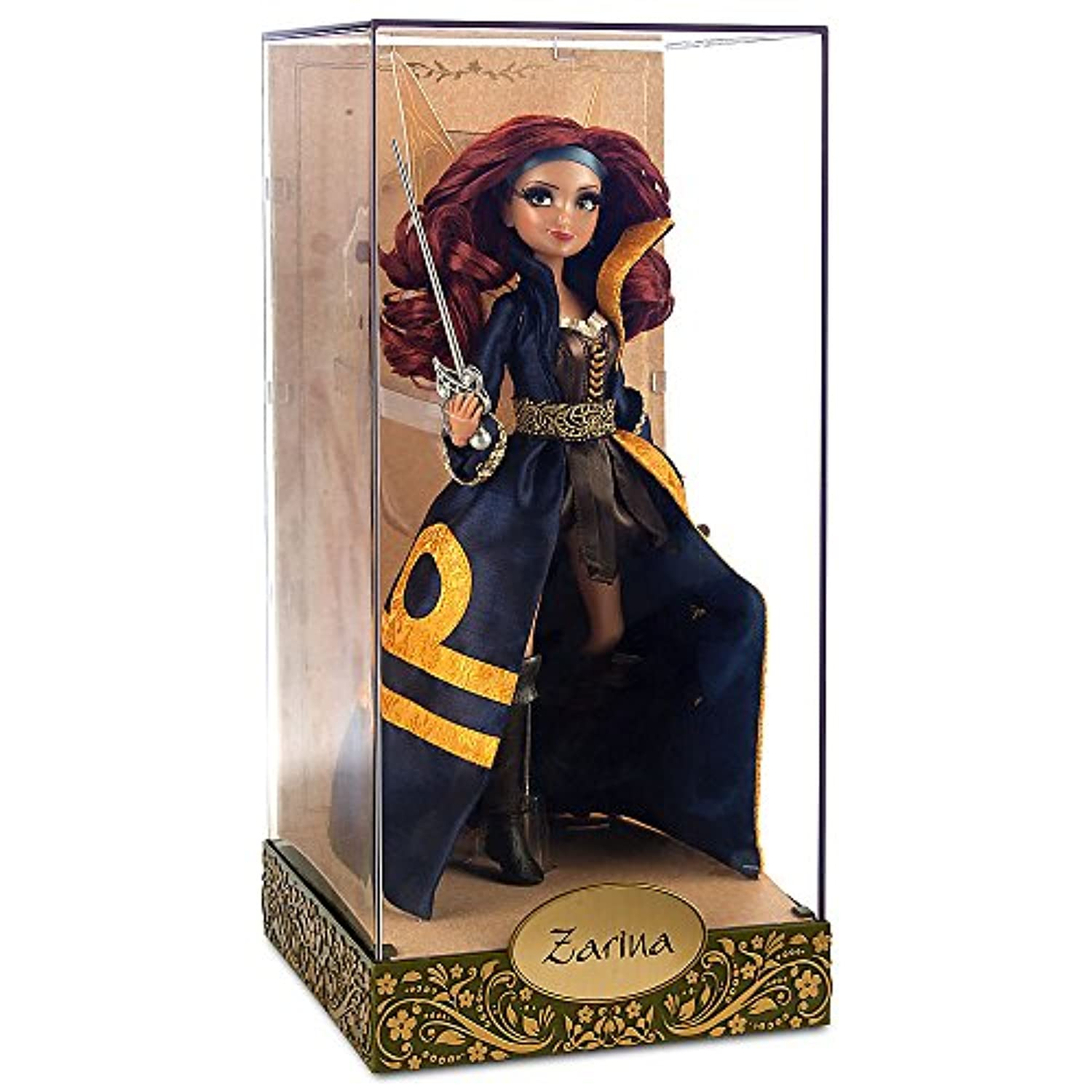 DISNEY STORE LIMITED EDITION DISNEY FAIRIES ZARINA PIRATE FAIRY DESIGNER DOLL by Disney